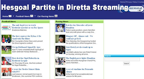 HESGOAL COM PARTITE IN DIRETTA STREAMING