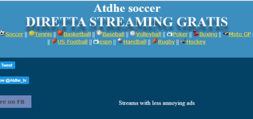 ATDHE NET TV Link diretta streaming sport partite di calcio