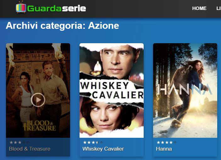 GUARDASERIE SERIE TV STREAMING ITALIANO