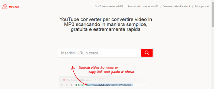convertitore youtube mp3hub