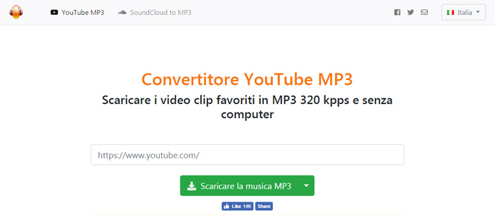 convertitore mp3 youtube converter download