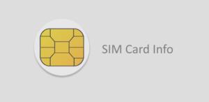 SIM INFO   Come trovare codice Imei e numero seriale della sim