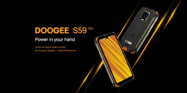 Doogee S59 Pro, il miglior rugged phone in commercio